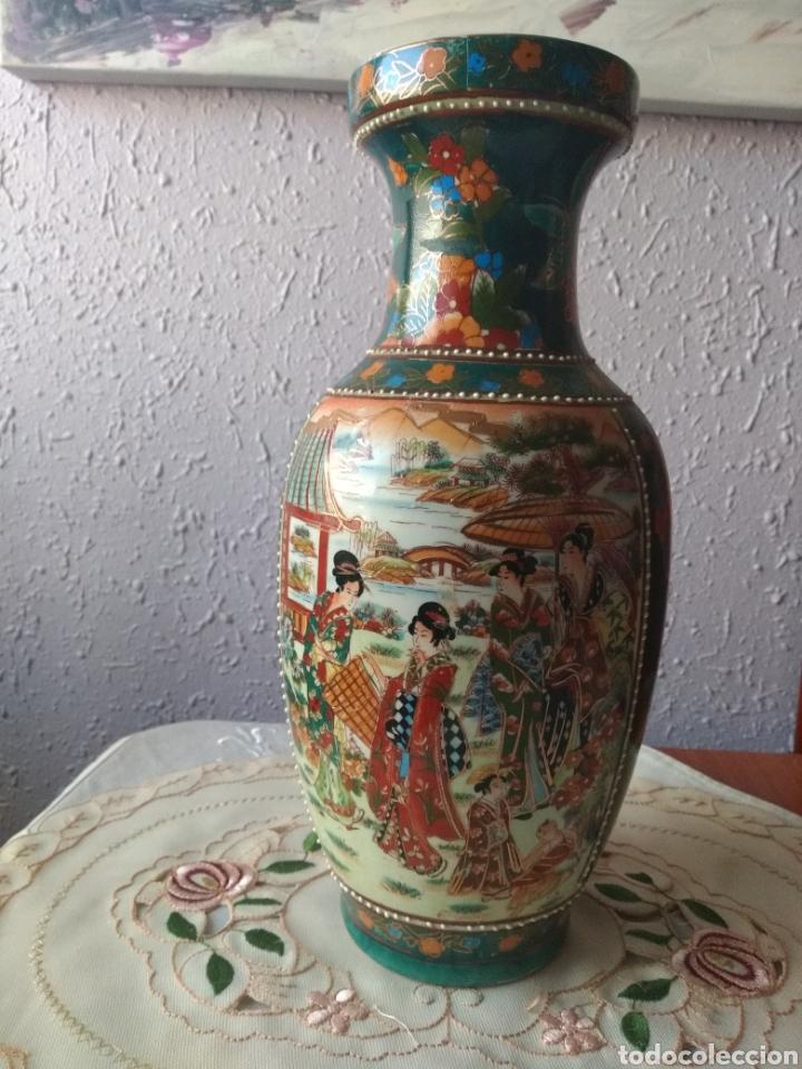 Vintage: JARRÓN PORCELANA ( CHINA SELLO EN LA BASE ). MÁS PORCELANAS EN MÍ PERFIL - Foto 3 - 166716300