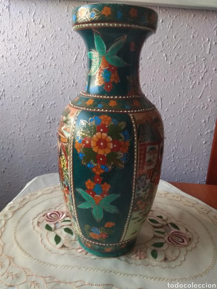 Vintage: JARRÓN PORCELANA ( CHINA SELLO EN LA BASE ). MÁS PORCELANAS EN MÍ PERFIL - Foto 4 - 166716300