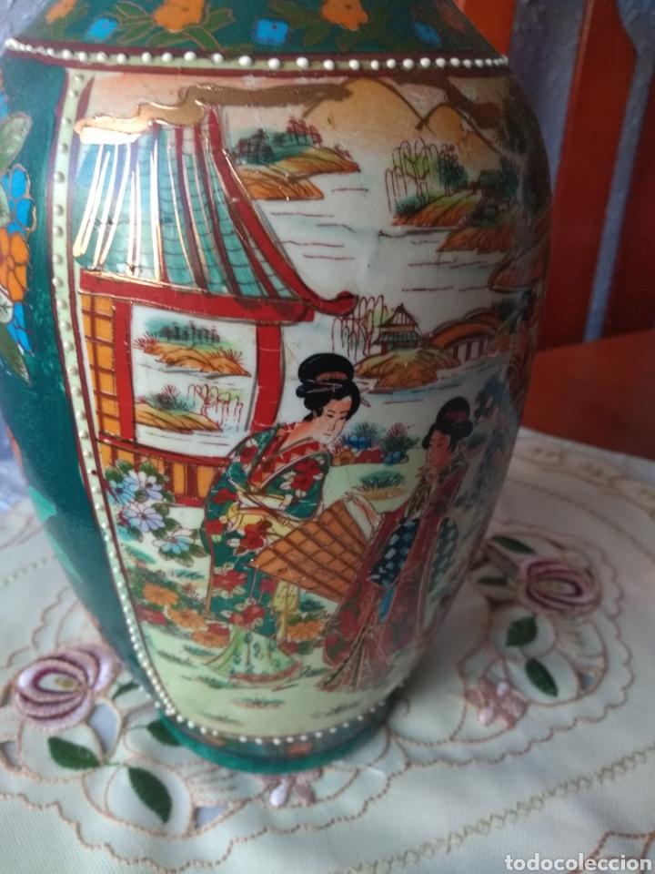 Vintage: JARRÓN PORCELANA ( CHINA SELLO EN LA BASE ). MÁS PORCELANAS EN MÍ PERFIL - Foto 5 - 166716300