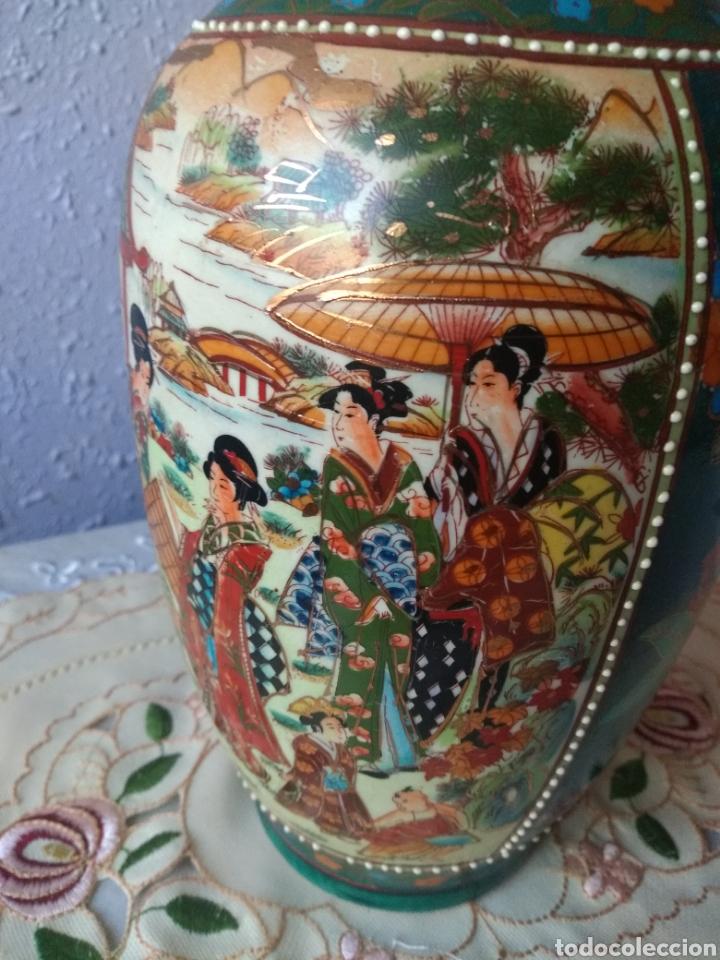 Vintage: JARRÓN PORCELANA ( CHINA SELLO EN LA BASE ). MÁS PORCELANAS EN MÍ PERFIL - Foto 6 - 166716300