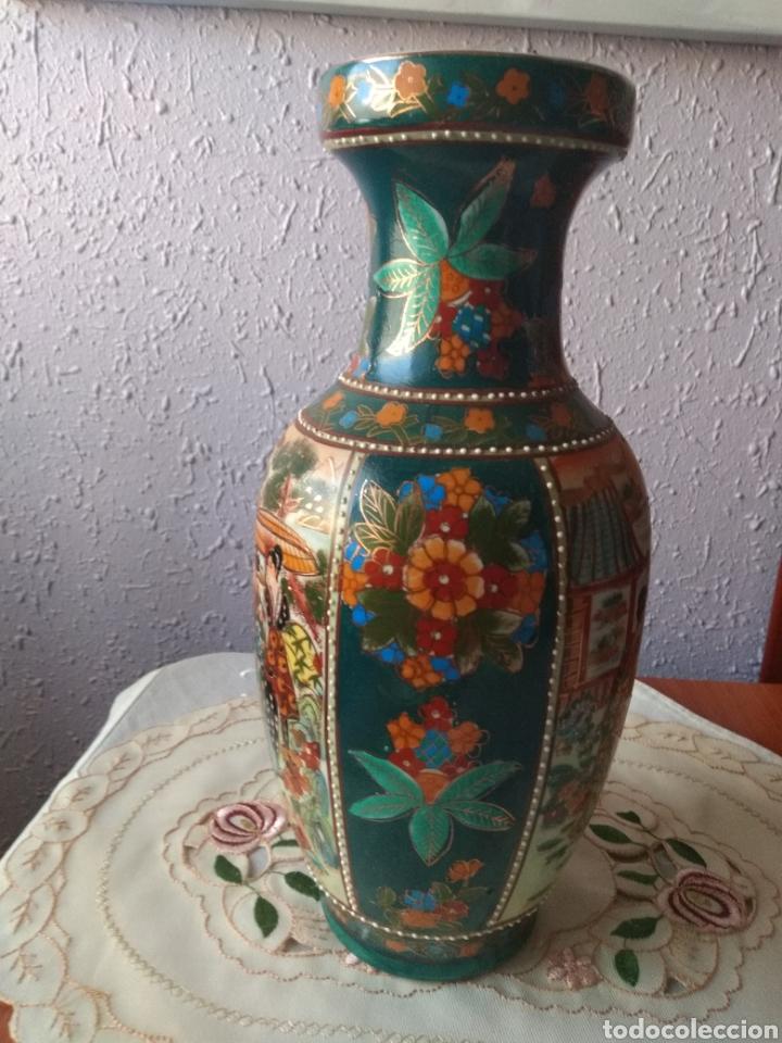 Vintage: JARRÓN PORCELANA ( CHINA SELLO EN LA BASE ). MÁS PORCELANAS EN MÍ PERFIL - Foto 9 - 166716300