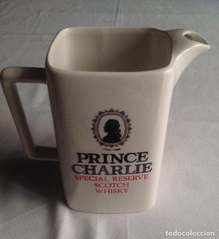 JARRA CERAMICA WHISKY PRINCE CHARLIE SPECIAL RESERVE SCOTCH (Vintage - Decoración - Porcelanas y Cerámicas)