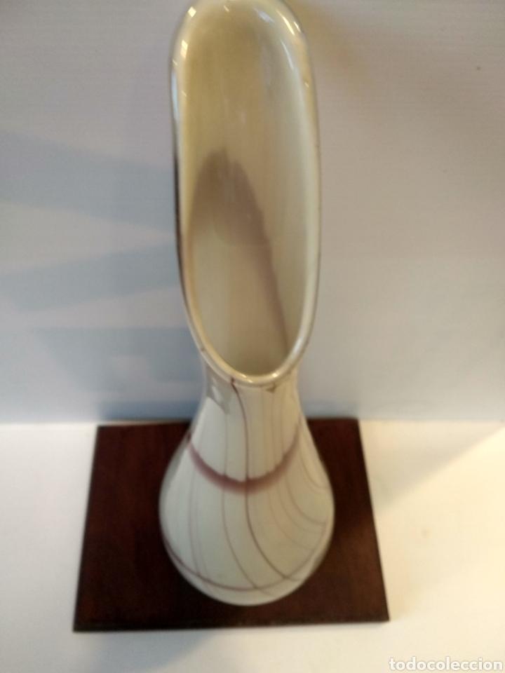 Vintage: Jarrón florero cristal murano - Foto 4 - 175932188