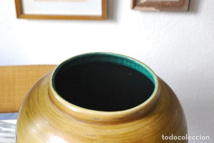 Vintage: JARRÓN DE CERÁMICA ALEMANA - JASBA - WEST GERMANY - AÑOS 60 - GRAN TAMAÑO 35 CM - T - Foto 3 - 176154162