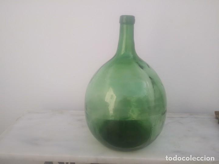 Vintage: Antigua garrafa damajuana MARCA OLLERIA del LEVANTE Valencia botella grande de 16 litros - Foto 3 - 176524845