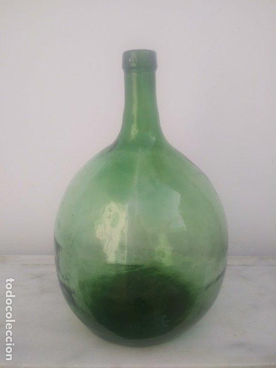 Vintage: Antigua garrafa damajuana MARCA OLLERIA del LEVANTE Valencia botella grande de 16 litros - Foto 4 - 176524845