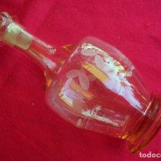 Vintage: JARRA DE CRISTAL GRABADO. Lote 176592359