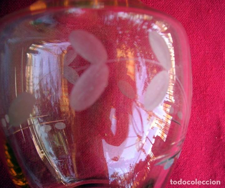 Vintage: Jarra de cristal grabado - Foto 3 - 176592359