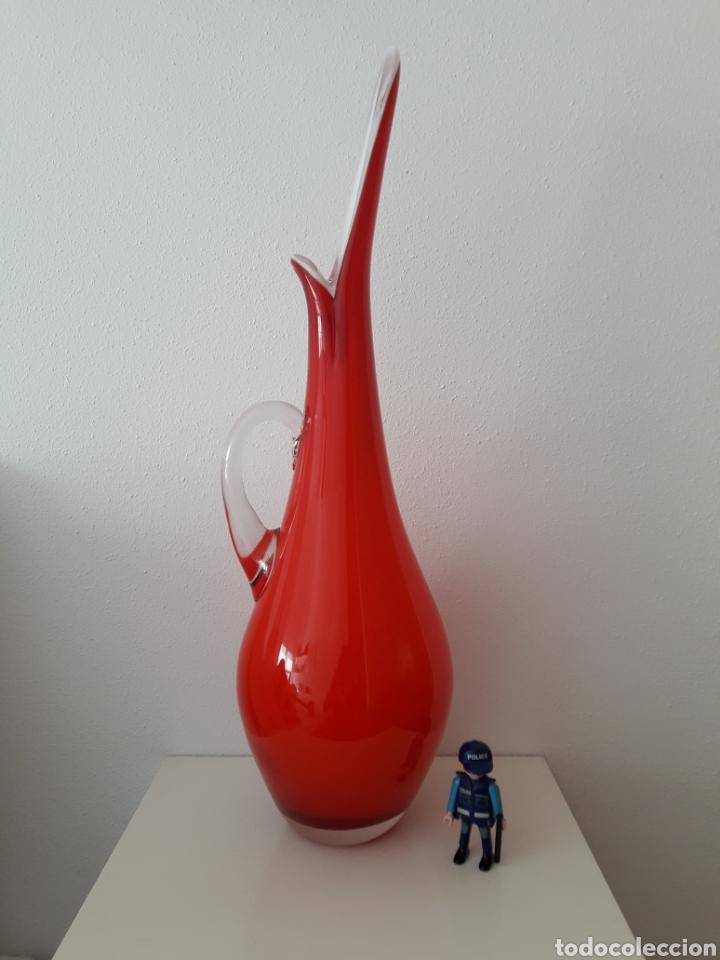 Vintage: Jarrón vintage cristal murano - Foto 3 - 176830445