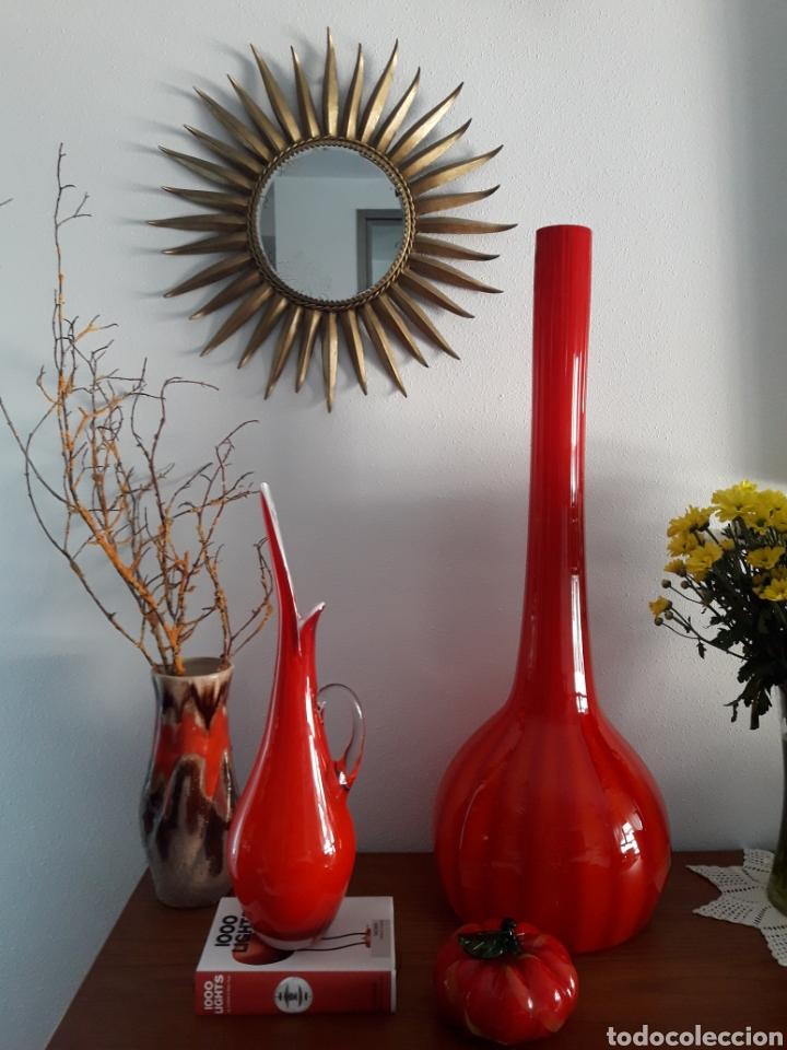 Vintage: Jarrón vintage cristal murano - Foto 4 - 176830445