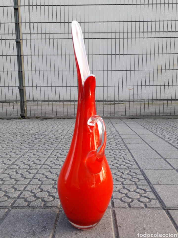 Vintage: Jarrón vintage cristal murano - Foto 5 - 176830445