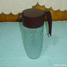 Vintage: JARRA DE CRISTAL PARA AGUA.AÑOS 70.. Lote 177319818