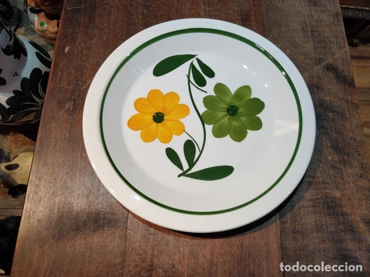 Vintage: Vajilla de porcelana italiana - Quadrifoglio - 36 Piezas - 22 platos de 24.5cm y 14 de 20.5cm - Foto 2 - 177546328