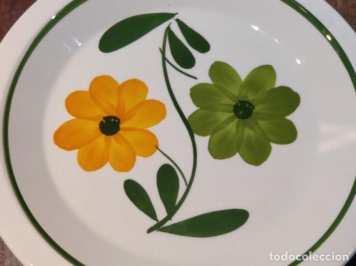 Vintage: Vajilla de porcelana italiana - Quadrifoglio - 36 Piezas - 22 platos de 24.5cm y 14 de 20.5cm - Foto 3 - 177546328