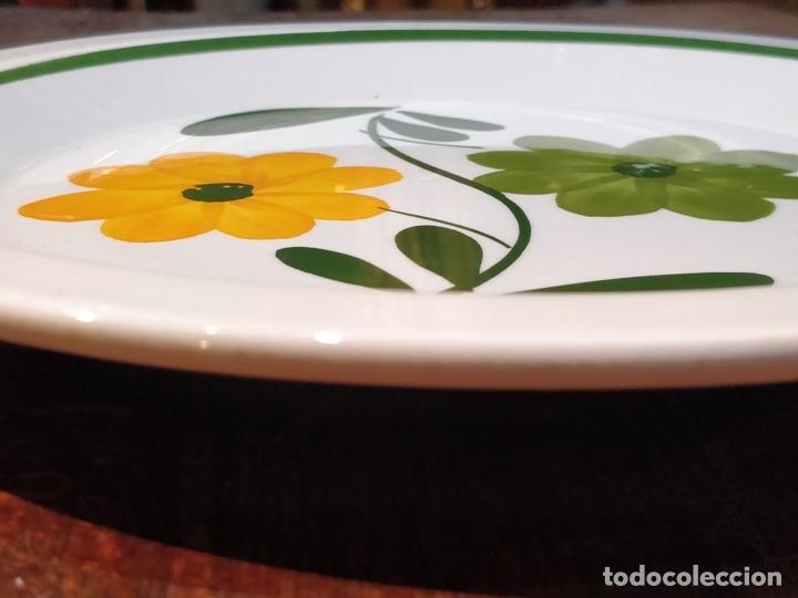 Vintage: Vajilla de porcelana italiana - Quadrifoglio - 36 Piezas - 22 platos de 24.5cm y 14 de 20.5cm - Foto 4 - 177546328