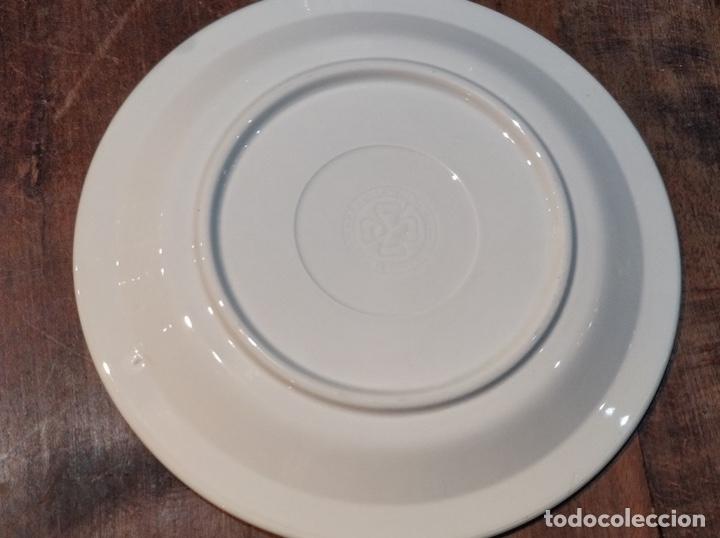 Vintage: Vajilla de porcelana italiana - Quadrifoglio - 36 Piezas - 22 platos de 24.5cm y 14 de 20.5cm - Foto 5 - 177546328
