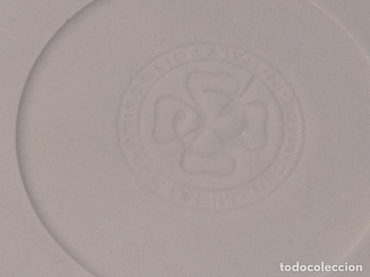 Vintage: Vajilla de porcelana italiana - Quadrifoglio - 36 Piezas - 22 platos de 24.5cm y 14 de 20.5cm - Foto 7 - 177546328