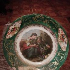 Vintage: PLATO EN PORCELANA ROYAL CHINA - VIGO.. Lote 178242990