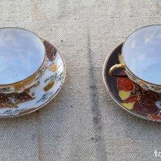 Vintage: 2 TAZAS ORIENTAL . Lote 178266878