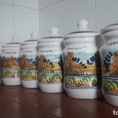 Vintage: 6 TARROS GRANDES DE COCINA.. Lote 178710557