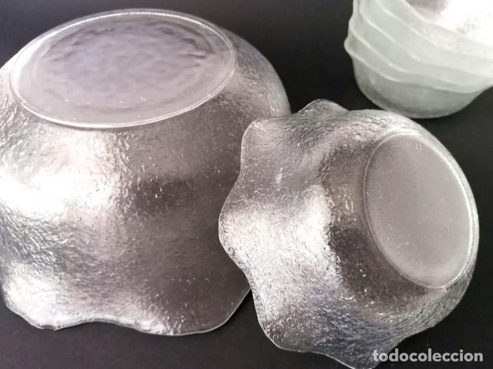 Vintage: Fuente/Ponchera / Vintage de Cristal con 6 cuencos a juego - Foto 6 - 179196227