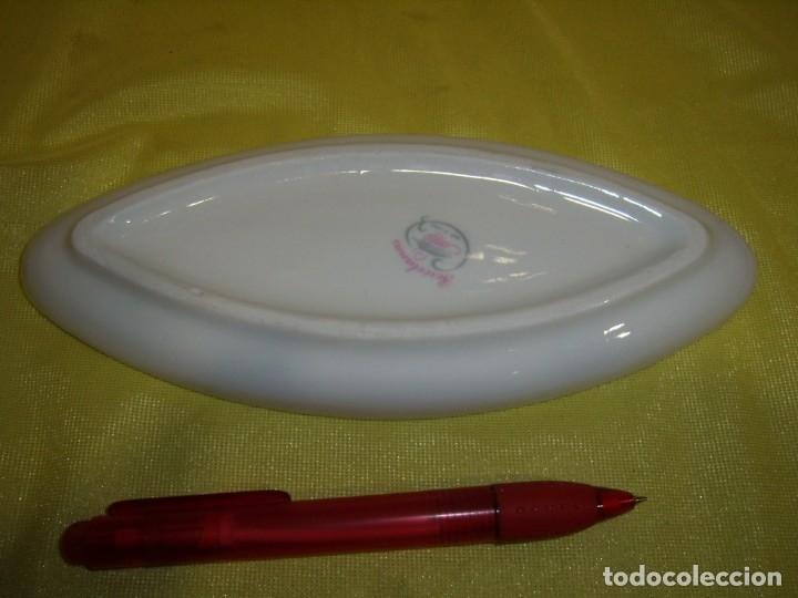 Vintage: Bandeja, vacía bolsillos porcelana Sanbo, medidas, 20,5 x 9 cm, Nueva sin usar. - Foto 2 - 179220775