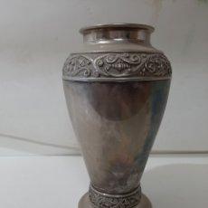 Vintage: BONITO JARRÓN DE ALPACA, MIDE 27 DE ALTO.. Lote 179524961