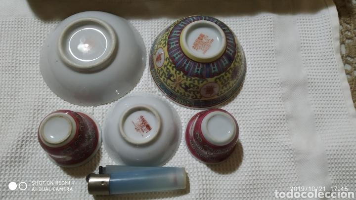 Vintage: Pequeños cuencos chinos - Foto 2 - 180392128