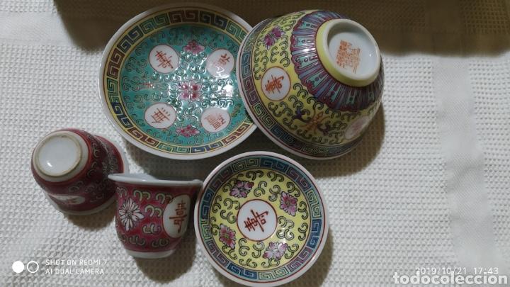 PEQUEÑOS CUENCOS CHINOS (Vintage - Decoración - Porcelanas y Cerámicas)