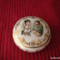 Vintage: CAJITA DE PORCELAINE DE LUXE ,CORSE.FRANCE .NAPOLEÓN. Lote 180411337