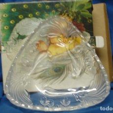 Vintage: FUENTE/FRUTERO DE CRISTAL ORIGINAL WALTHER GLAS - MADE IN GERMANY - NUEVA, EN SU CAJA. Lote 180504078