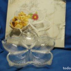 Vintage: FUENTE/FRUTERO DE CRISTAL ORIGINAL WALTHER GLAS - MADE IN GERMANY - NUEVA, EN SU CAJA. Lote 180504775