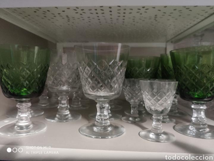 Vintage: Cristalería tallada - Foto 3 - 180948108