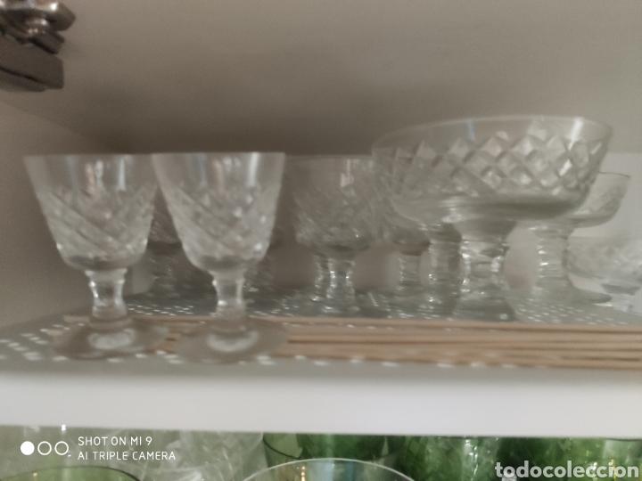 Vintage: Cristalería tallada - Foto 4 - 180948108