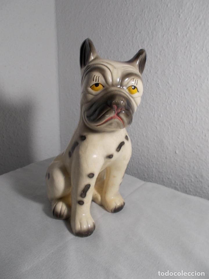 PERRO FIGURA DE IMPORTACIÓN (Vintage - Decoración - Porcelanas y Cerámicas)