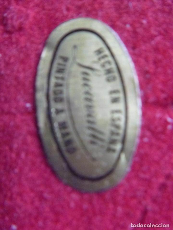 Vintage: LUCAVALLI FIGURA DE BARQUILLERO HECHO EN ESPAÑA Y DECORADA A MANO OFERTA - Foto 15 - 182286580