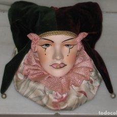 Vintage: ARLEQUIN DE CERAMICA PARA COLGAR.. Lote 182474261