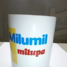 Vintage: TAZA PROMOCION MILUPA MILUMIL NUEVA PORCELANA. Lote 264157084