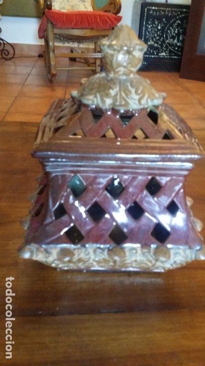 Vintage: pieza decorativa en ceràmica con calados - Foto 2 - 182977538
