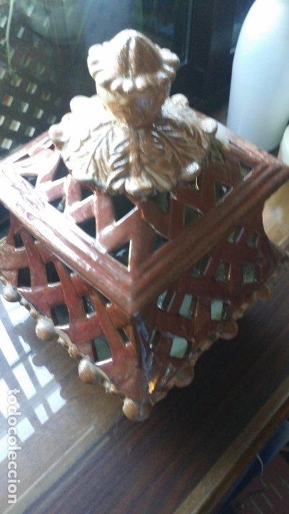 Vintage: pieza decorativa en ceràmica con calados - Foto 3 - 182977538
