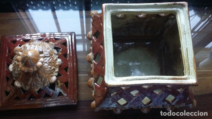 Vintage: pieza decorativa en ceràmica con calados - Foto 4 - 182977538