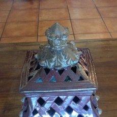 Vintage: PIEZA DECORATIVA EN CERÀMICA CON CALADOS. Lote 182977538