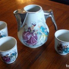 Vintage: JUEGO DE CAFE TE. Lote 182978607