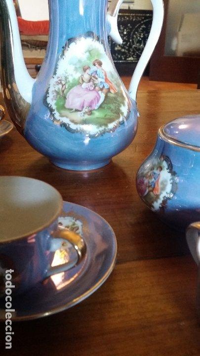 Vintage: juego de cafè o te decoración de època - Foto 3 - 183189407