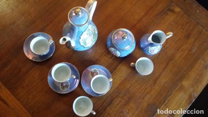 Vintage: juego de cafè o te decoración de època - Foto 5 - 183189407