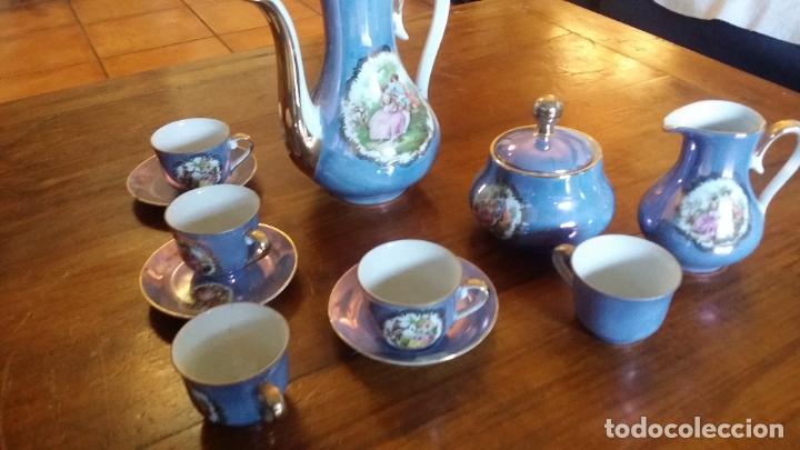Vintage: juego de cafè o te decoración de època - Foto 6 - 183189407