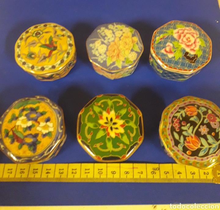 Vintage: Lote de Cajitas joyero de vitrina de porcelana vintage Japon - Foto 2 - 183201721