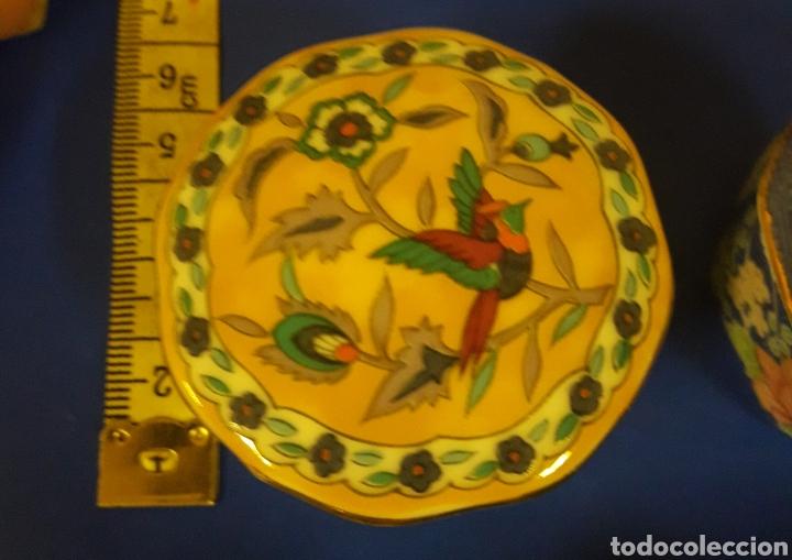Vintage: Lote de Cajitas joyero de vitrina de porcelana vintage Japon - Foto 4 - 183201721