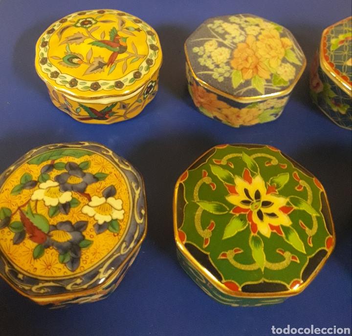Vintage: Lote de Cajitas joyero de vitrina de porcelana vintage Japon - Foto 5 - 183201721