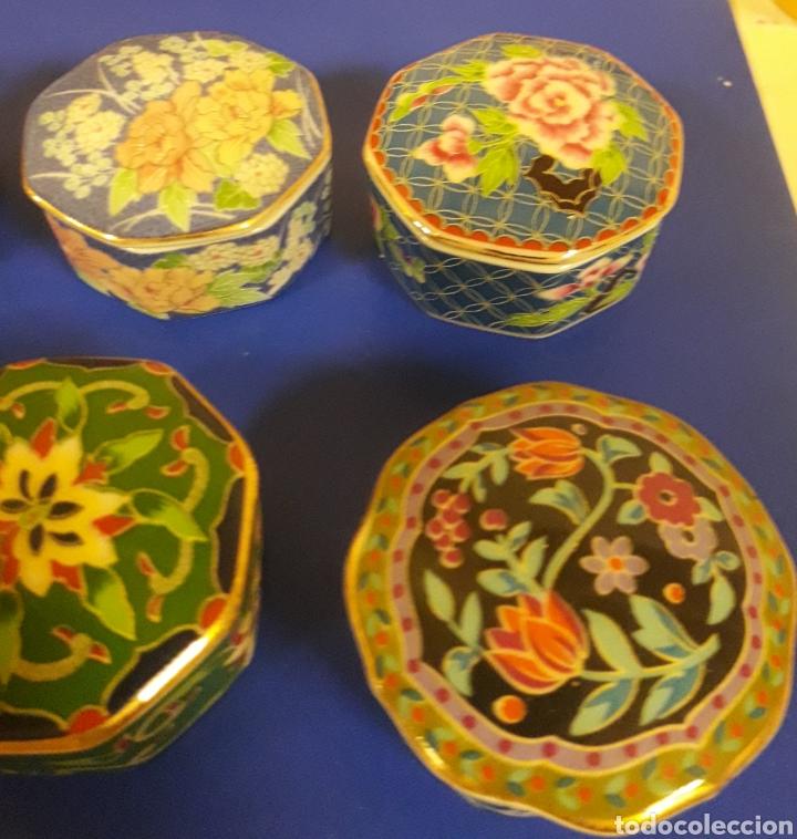 Vintage: Lote de Cajitas joyero de vitrina de porcelana vintage Japon - Foto 6 - 183201721